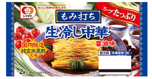 シマダヤ『もみ打ち 生冷し中華 醤油味』